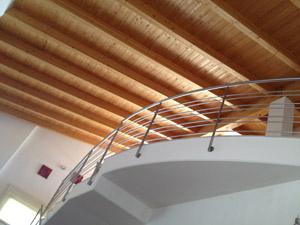 Soffitto In Legno Lamellare : Soffitto in legno lamellare u casamia vansangiare
